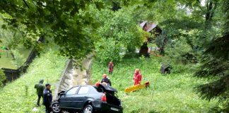 accident la Sinaia